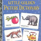 Little Golden Picture Dictionary - a little golden book- hb