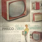 Oct. 28, 1957  Philco TV   ad (# 3418)