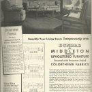 March 1940 Dunbar Furniture Manufacturing Co.    ad (#2996)