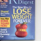Readers Digest-     January 2006.