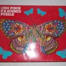 Schmid  1000 piece F.X. Schmid  puzzle-    Metamorphosis Butterfly- NIB