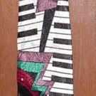 "City-One handmade  58""  necktie- multi-color- (# 12)"