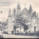 St. Patrick's R.C. Church, Poona  Postcard-  (# 124)