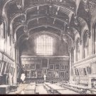 Oxford, Christchurch Dining Hall.    Postcard-  (#143)