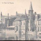 Bruges- Le Qual du Rosaire    Postcard  (#155)