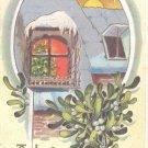 A Joyful Yuletide  Postcard  (#164)