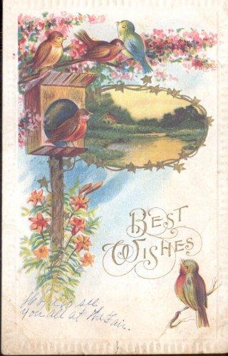 Best Wishes   Postcard  (#177)
