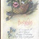 Best Wishes     Postcard  (#181)