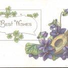 Best Wishes     Postcard  (#182)