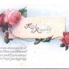 Kind Regards     Postcard  (#185)