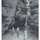 Crevice at Bear House, Petit Jean State Park, Arkansas   Postcard  (#197)