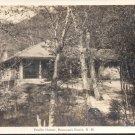 Profile Shelter, Franconia Notch, N.H.   Postcard  (#198)