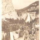 Vernal and Nevada Falls from Sierra Point     Postcard  (#203)