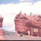 Balanced   Rock and Steamboat Rock   postcard   (#257)