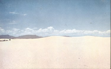 Dazzling Dunes White Sands National Monument     postcard   (#260)