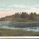 Lake Cobbosseecontee, Me Pavilion and Theatre Island Park Postcard (# 274)