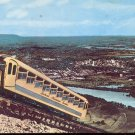 View of the incline Car- Lookout Mountain.  Tenn..  Postcard (# 276)