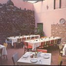 The Patio at La Posta- Masilla, New Mexico  Postcard (# 288)
