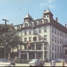The Crossmon Hotel  from the main street of Alexandria Bay N.Y   Postcard (#312)