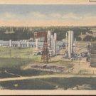 Texas Oil Refinery   Postcard  (#319)