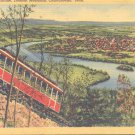 View from Incline, Lookout Mountain, Chattanooga, Tenn.   Postcard  (#328)