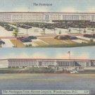 The Pentagon from across lagoon, Washington, D.C.  Postcard  (#330)