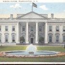 White House, Washington, D. C.  Postcard  (#336)