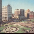 Grand Circus Park, Detroit, Michigan .  Postcard  (#338)