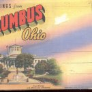 Greetings from Columbus, Ohio    Postcard booklet # 2  (#355)