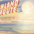 The Overland Route  along the Southern Pacific     Postcard booklet   (#358)