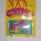 Vintage 1986 C.U.T.I.E tiny dolls (tiny for girls ) from Mattell- 3438.