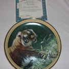 Season's of the Tiger- Silent Pursuit plate by Terry Isaac