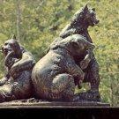 Brookgreen Gardens Murrells Inlet, South Carolina- Brown Bears     Postcard(# 391)