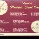 Legend of Florida's Sand Dollar - sea shells of Florida      Postcard (#436)