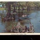 Greetings from Reelfoot Lake  - Tenn.     Postcard (#489)