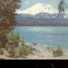 South Sister- highest of Oregon's Three Sister Peaks       Postcard (#502)