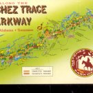 Along the Natchez Trace Parkway Miss. Ala. Tennessee Postcard (# 517)