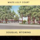 White Lilly Court Douglas, Wyoming      Postcard (#541)