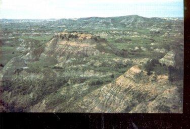 Hitching Post Historic Medora, N.D.       Postcard (#551)