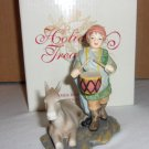 Avon  Drummer Boy and  Donkey Figurine