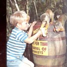 More fun than a Barrel of Monkeys- Homosassa Springs       Postcard  (# 584)