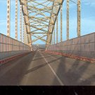 The International Bridge between Michigan  and Canada      Postcard- (# 619)