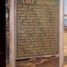 Lake Superior Historical Site- Michigan   Postcard- (# 639)
