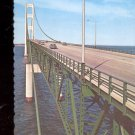 The Mackinac Bridge- - Michigan    Postcard- (# 642)