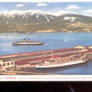 Vancouver, B.C. Canada C.P.R. Pier, North Shore, Ski Lift     Postcard- (# 654)