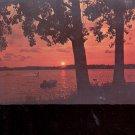 Water Skiing at Eventide in Minnesota's water wonderland  Postcard   (# 692)