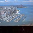 new apartments and hotels line the scenic byways  Waikiki  Postcard   (# 693)