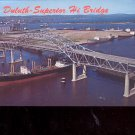 Duluth- Superior Hi Bridge   Postcard  #2 (#698)