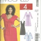 McCalls  pattern  M6032   Misses and womens dresses .  -  Size RR 18W-24W