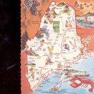 Maine - Pine Tree State         Postcard     (# 715)